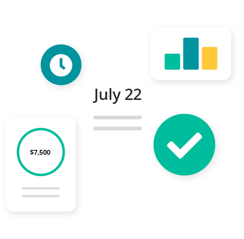 Manage the basics including cash flow, bills, expenses, schedule payments and more. Plus, advanced features across customisable invoices, inventory tracking and job management. With over 200+ types of reports & graphs you can get business insights and your financial position at a glance.