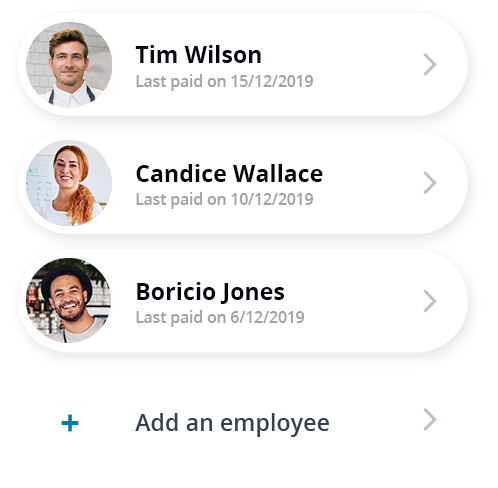 Easily manage your payroll and employee obligations. Enter time, schedule pay runs, print or email pay slips, enter leave entitlements and more.