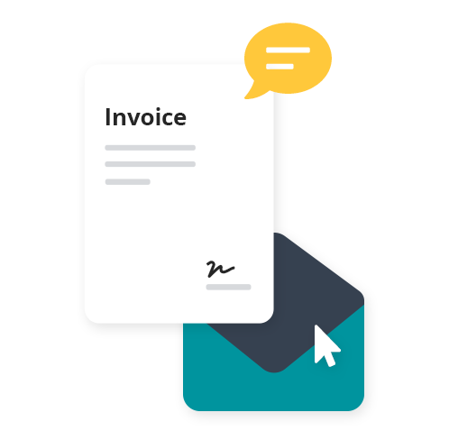 Easily create invoices and estimates and send to your customers via email. You can even customise the invoice or add a personalised message to individual invoices.