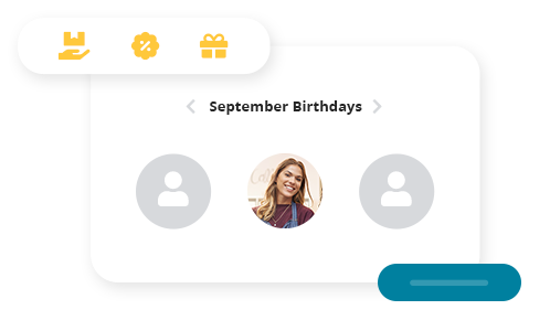 Birthday rewards. Birthday rewards are an great way to connect with your customers and incentivise them to visit your store. Easily set the reward of your choice whether it's a free item, discount or a custom gift and assign a day, week or month time frame for redemption.