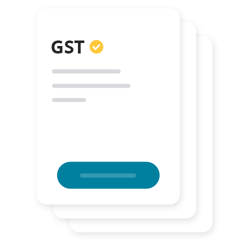 Don't stress about the GST.  Handling GST tasks is now a breeze. Just fill in the amount and easily receive money or make payment to the ATO.