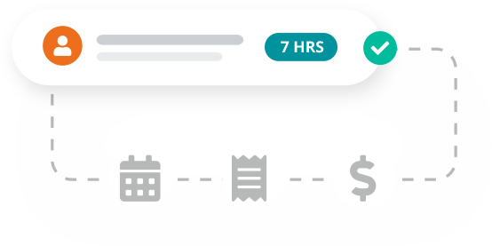 Create pay runs from your timesheet entries