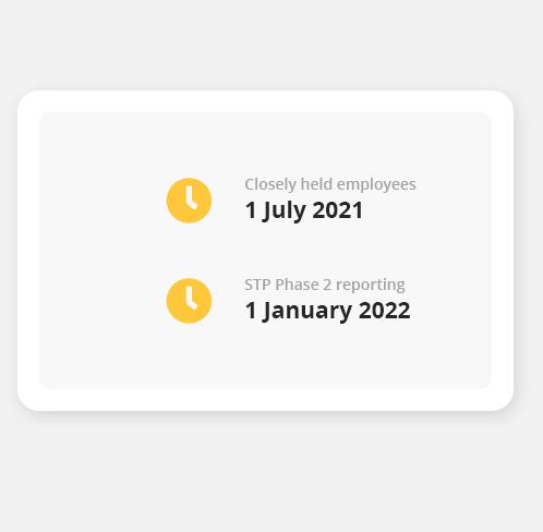 STP Key Dates