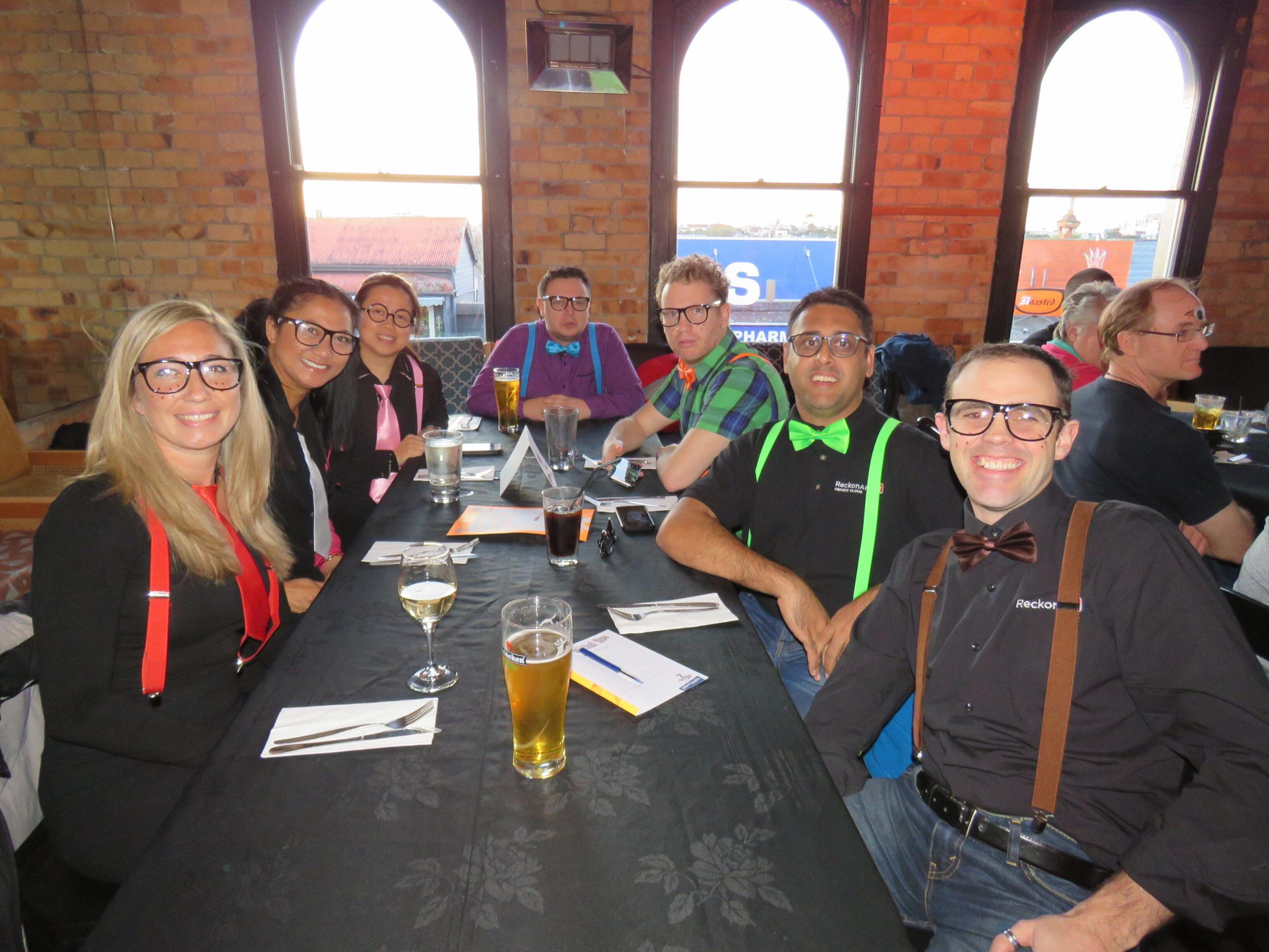 The Reckon NZ team celebrating