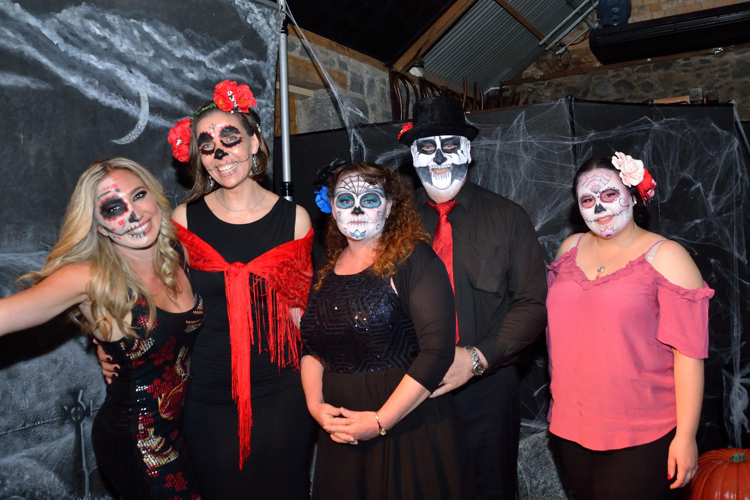 The Reckon NZ team celebrating Halloween