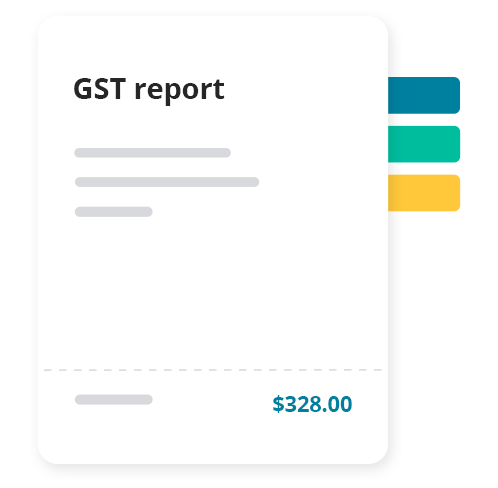 Track and report on GST. Great tax features ease the pain of tax time. Items can be automatically categorised to help you prepare your tax returns.