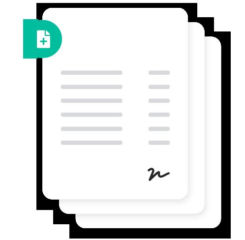 Invoices document storage.