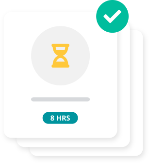 Approve timesheets submissions with a click